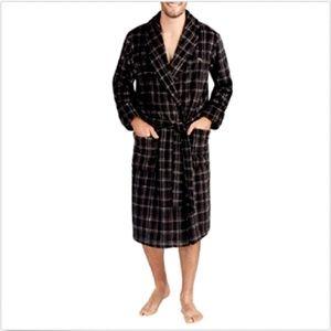 Tommy Bahama Men's Plush Fleece Robe Bathrobe